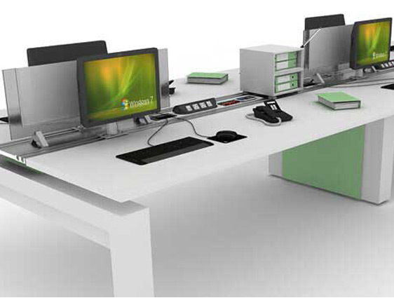 Office Desk Furniture Modeling
