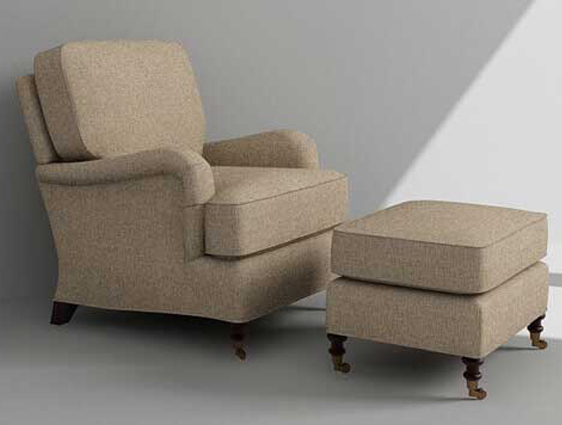 Sofa Chair Rendering