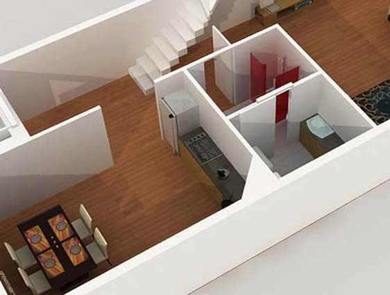 3d Floor Plan Design Services 3d House Design Services