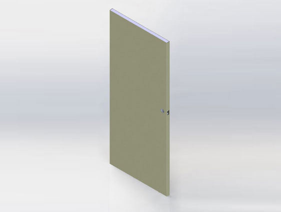 3D Modeling for Door