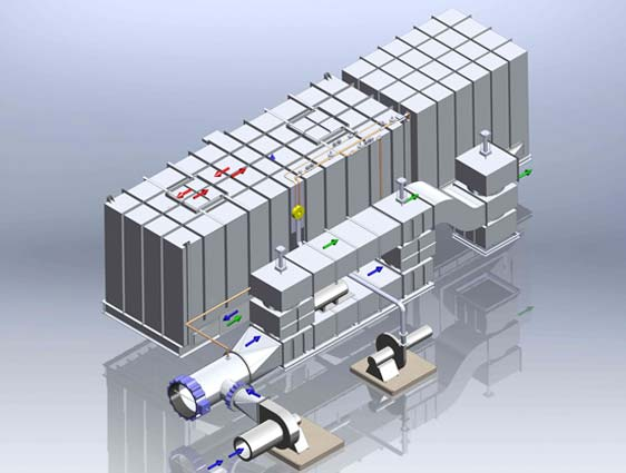 3D Modeling for Water Treatment Plant