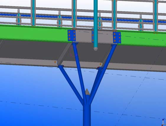 Structural Steel Detailing in Tekla
