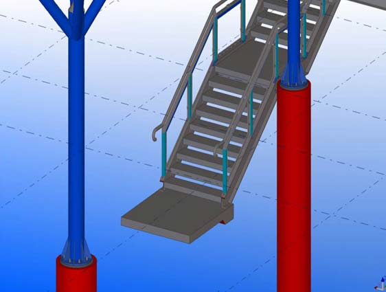 Tekla Structure Modeling
