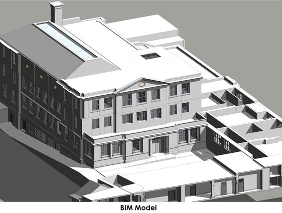 BIM Model of UK based Education Centre