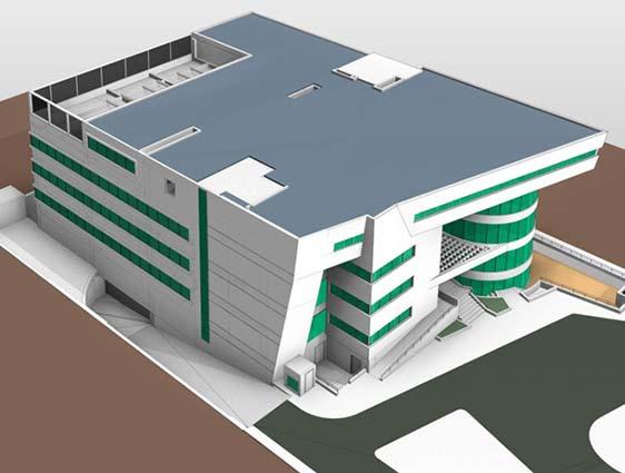 BIM Model for Eye Hospital