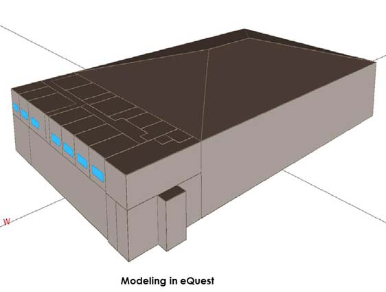eQuest Modeling and Analysis