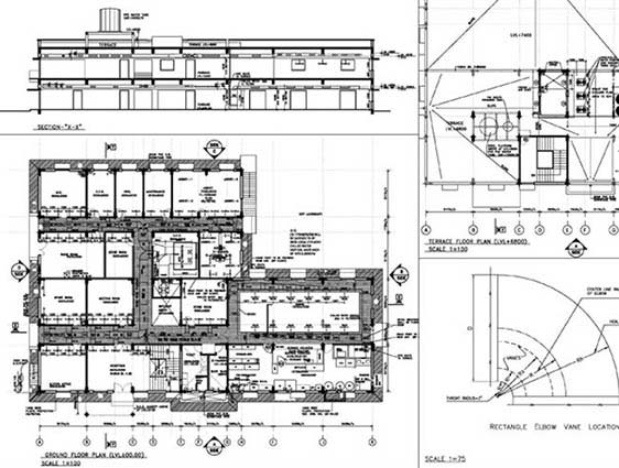 Architectural 2D Drafting in Autocad