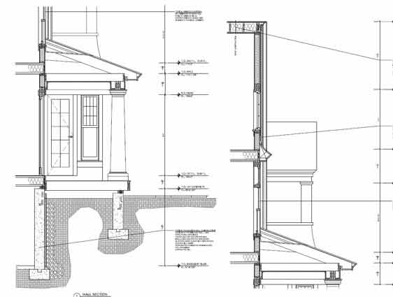 CAD Conversion of House Plan