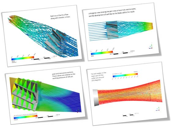 CFD Analysis for Gas Scrubbing