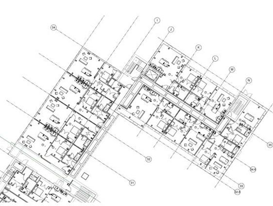GA Drawing of Residential Building