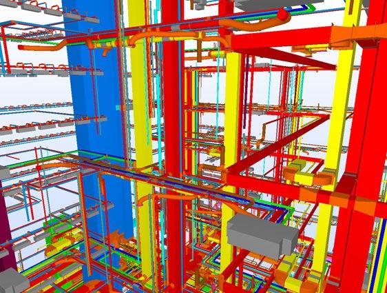 3D MEP Coordination