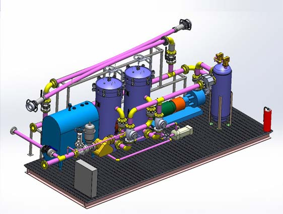 Piping 3D Modeling