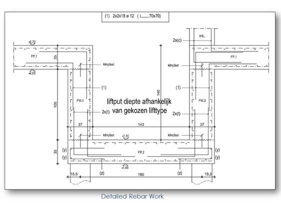 Rebar Shop Drawing