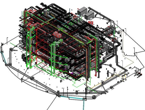 MEP Model of Data Center