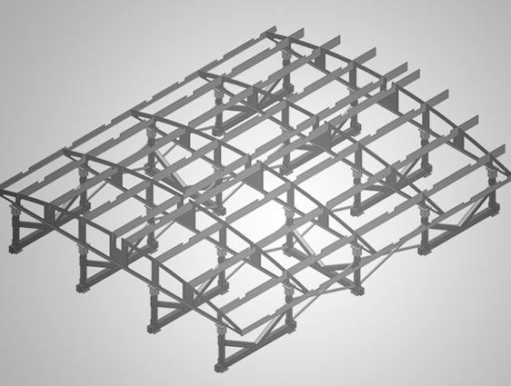 Sheet Metal Roof Modeling