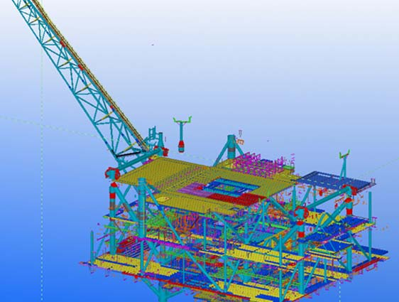 Steel Detailing for Oil and Gas
