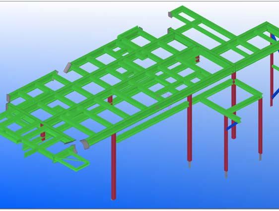 Tekla Detailing for Industrial Structure