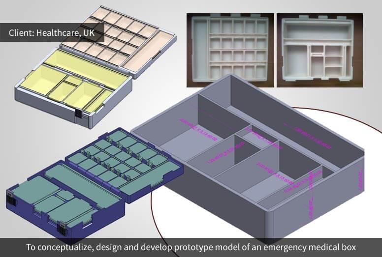 Rapid Prototyping - Medical Box