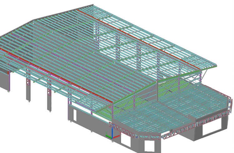 3D Isometric View - Business Park