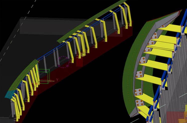 Responder Memorial Steel Detailing