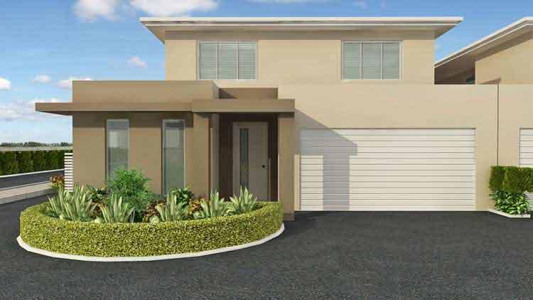 3D House Exterior Design