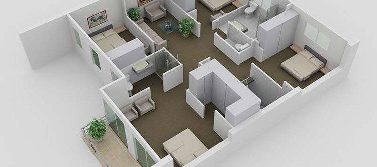 4 Bedroom Floor Plan Design