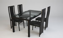 3D Model Dinining Table
