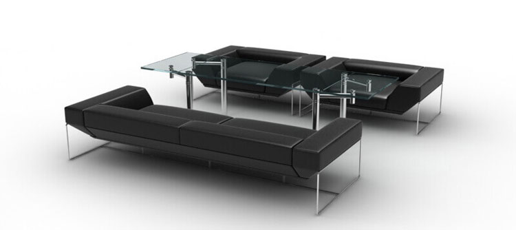3D Product Rendering of Sofa