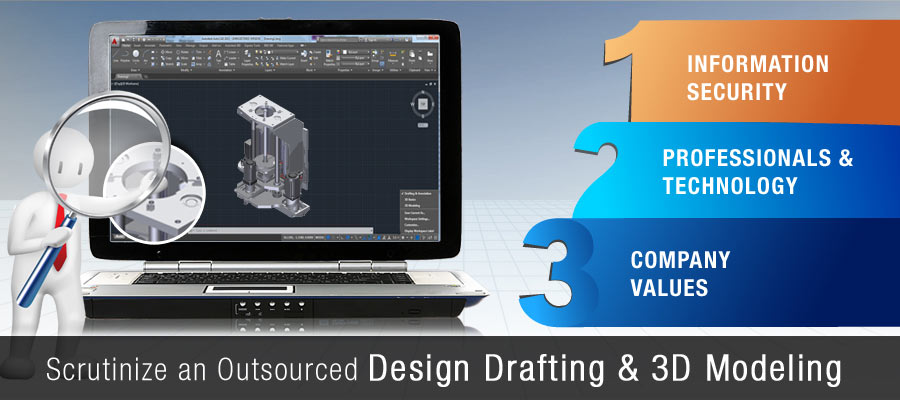 Outsourced Design Drafting & 3d Modeling Company