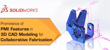 Prominence of PMI Features in 3D CAD Modeling for Collaborative Fabrication