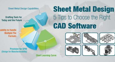 Sheet Metal Design: 5 Tips to Choose the Right CAD Software