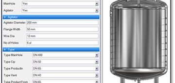 Process Tank Configurator for Industrial Equipment Manufacturer, Netherlands