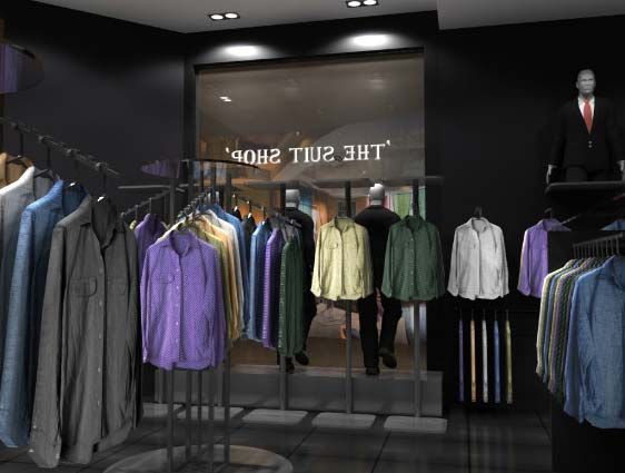 BIM for Fashion Retail Shop