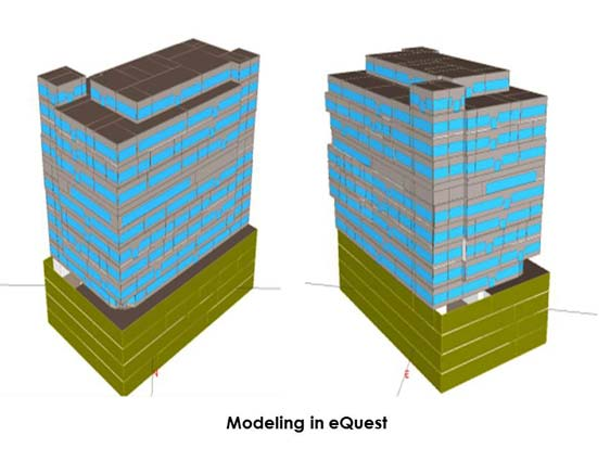 Modeling in eQuest