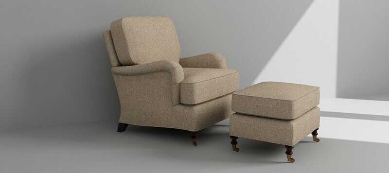 Sofa Chair Rendering Design