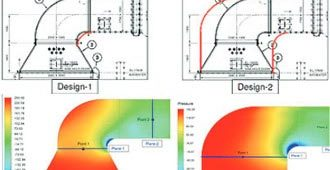 Design Optimization of Material Handling Ducts for a Cement Manufacturing Plant