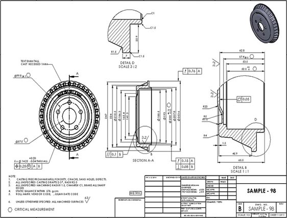 mechanical cad drafting services  autocad  u0026 solidworks drafting
